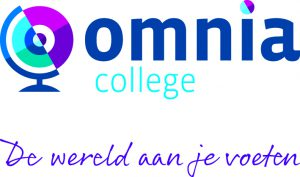Omnia logo + pay-off